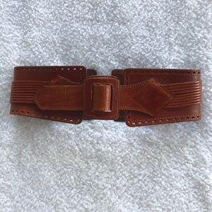 Anthropologie Linea Pelle Leather Waist Belt